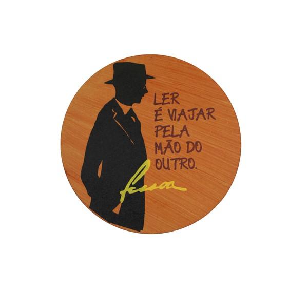 Quadrinho Redondo Fernando Pessoa