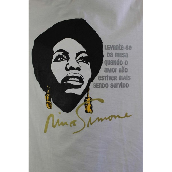 Babylook Nina Simone Amor Branca