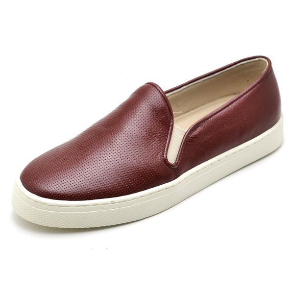 Tenis Sapatenis Feminino Top Franca Shoes Hiate World Jabuticaba