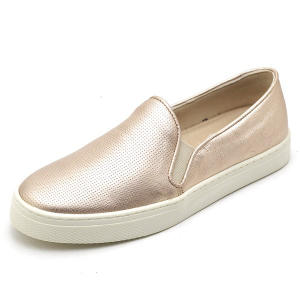 Tenis Sapatenis Feminino Top Franca Shoes Hiate World Rose