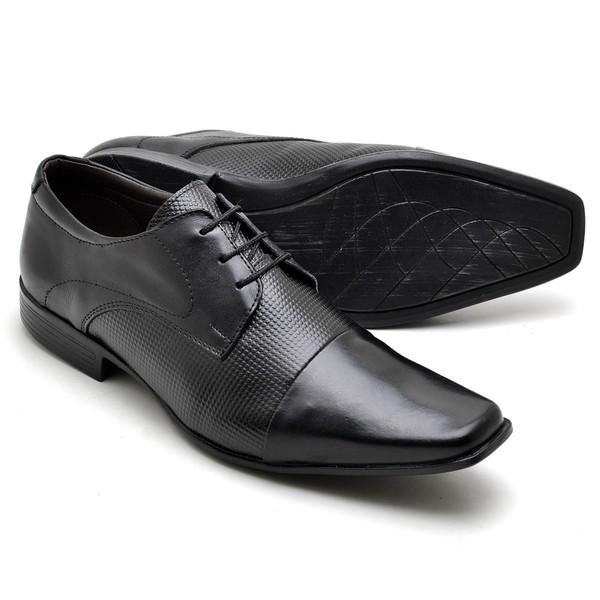 Sapato Social Reta Oposta