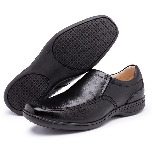 Sapato Social Conforto Anatomico Preto