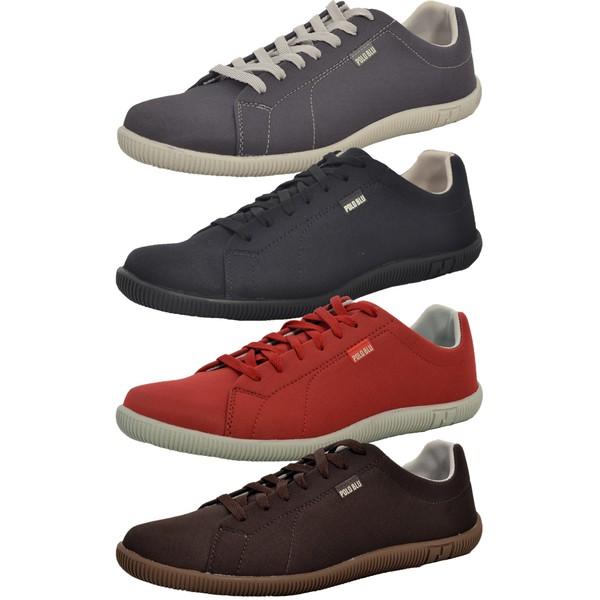 Kit 4 Pares Sapatênis Casual Top Franca Shoes Chumbo / Preto / Vermelho / Café