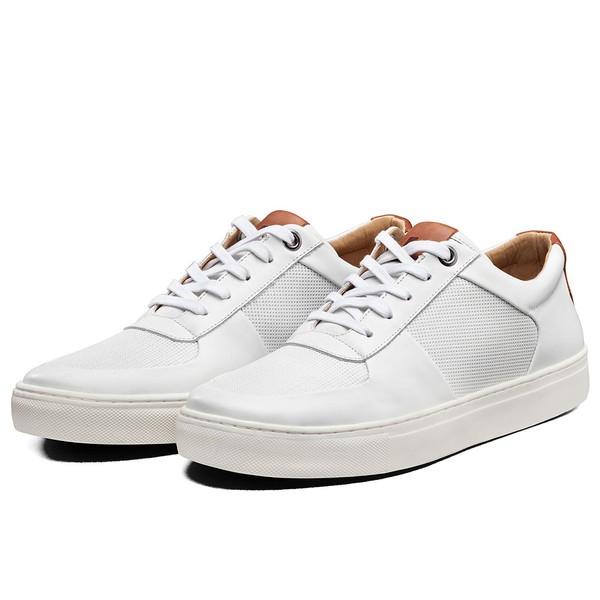 Tênis Sapatênis Lomen Sneakers Baruc Branco