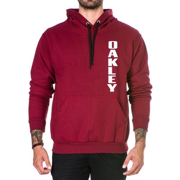 Moletom Masculino Oaklen - Bordo