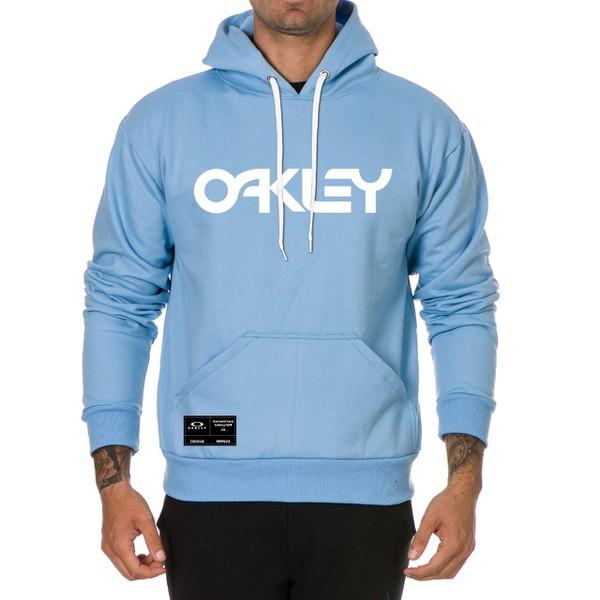 Moletom Masculino Oaklen - Azul