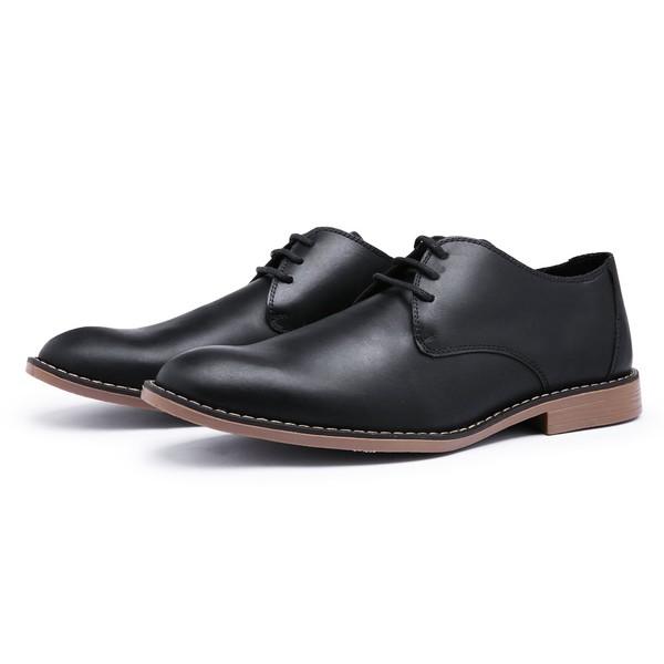 Sapato Social Derby Top Franca Shoes Preto