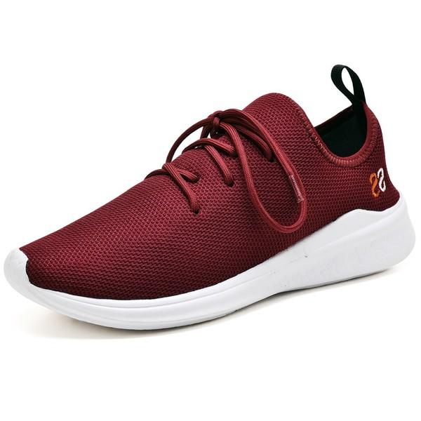 Tênis Masculino Esporte Fit Snap Shoes Bordo