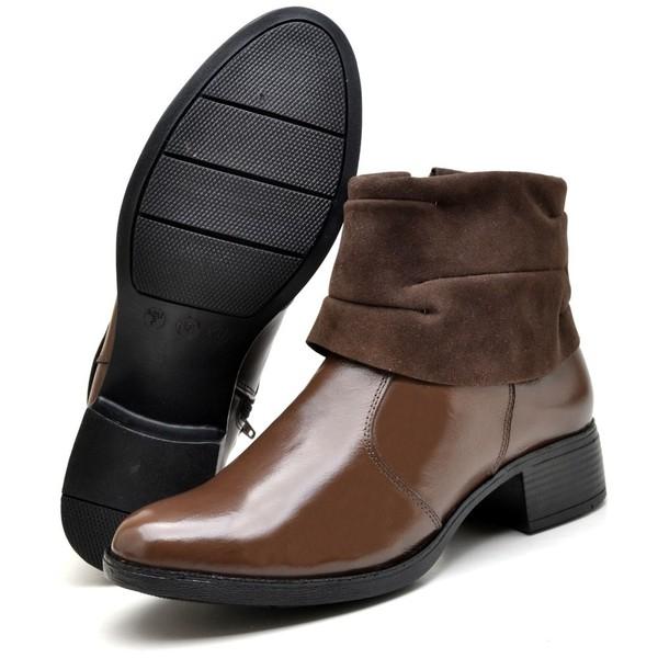 Bota Country Montaria Feminina Top Franca Shoes Cafe