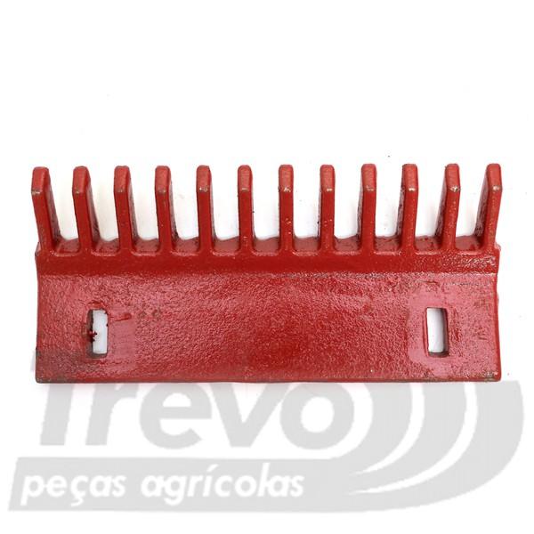 PENTE LIMPADOR 12 DEDOS DE FERRO FUNDIDO