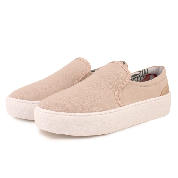 Tênis Trivalle Shoes Slip On Bege