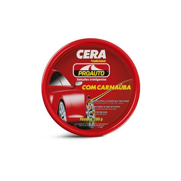 CERA EM PASTA TRADICIONAL C/ CARNAUBA 200G