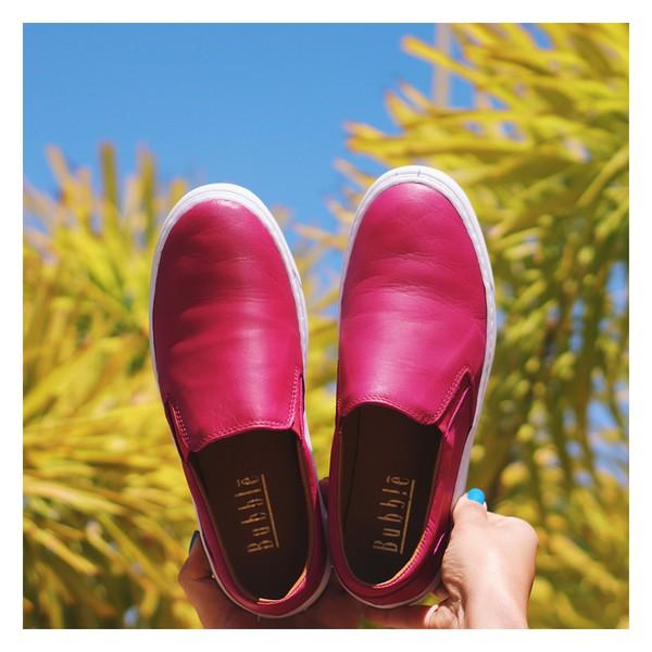 Tênis Slip On Feminino Rosa Pink- 280-01