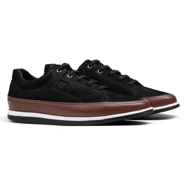 Sneaker Balder Nobuck Preto