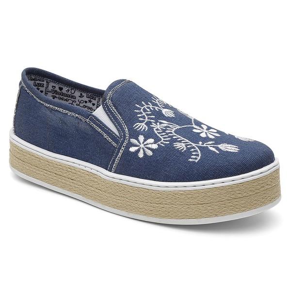 Slip-on Feminino Violanta Alasca Jeans