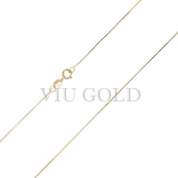 Corrente Veneziana de 45cm em ouro 18k amarelo
