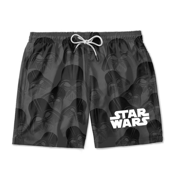 SHORT MASCULINO TACTEL STAR WARS