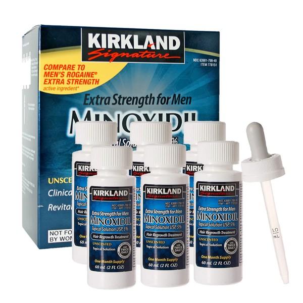 MINOXIDIL 5% KIRKLAND SIGNATURE® FORÇA EXTRA ORIGINAL
