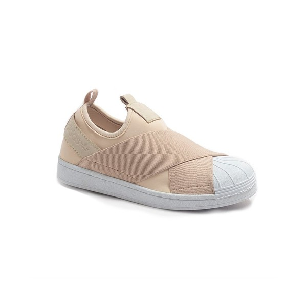 TENIS ADIDAS SUPERSTAR SLIP ON BEGE
