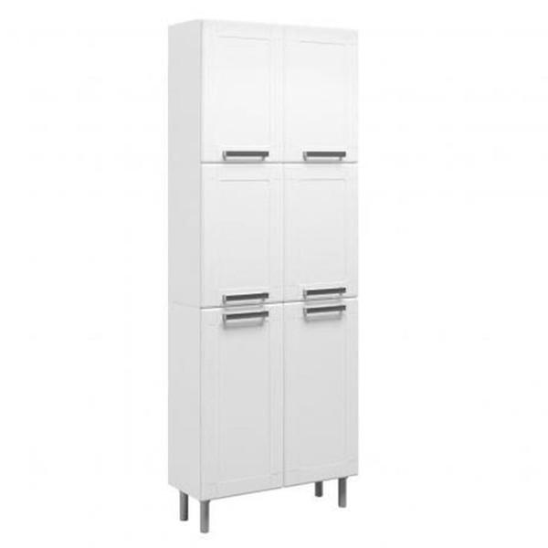 Paneleiro Para Cozinha 6 Portas Multipla Branco - Cozinhas Bertolini