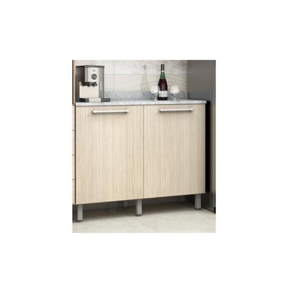 Gabinete Para Cozinha 2 Portas 5106.75 Evolution Noce Claro - Batrol Móveis
