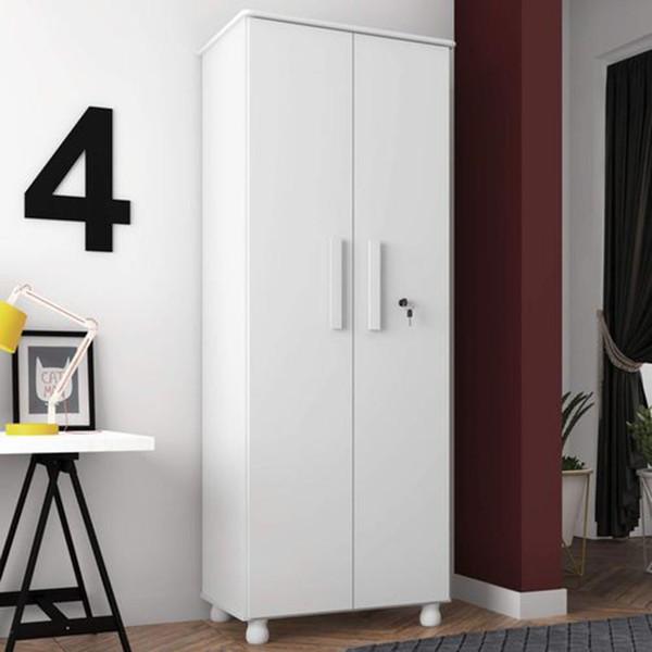 Multiuso Torino 2 portas Branco - Móveis Lanza