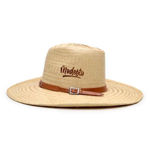 Chapéu de Palha Modesto Estilo Violeiro