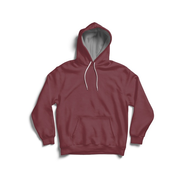 Moletom Masculino Adaption Liso Bordo