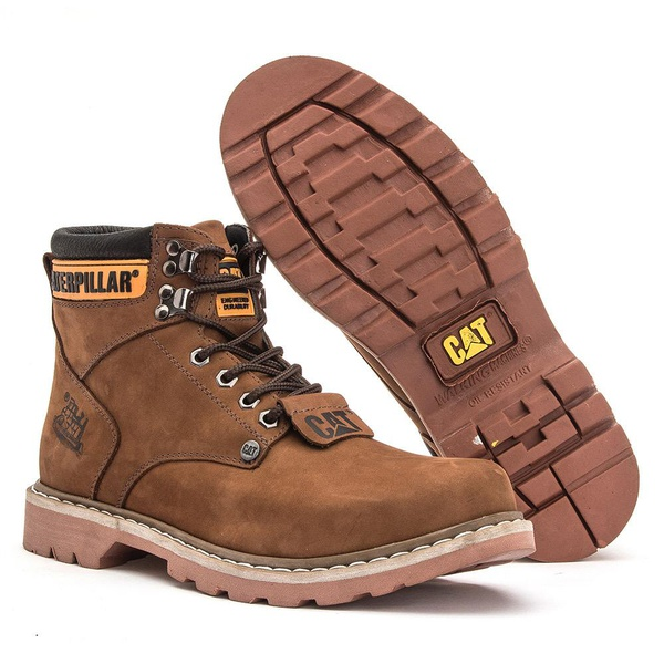 Bota Caterpillar Castor Masculina Second Shift