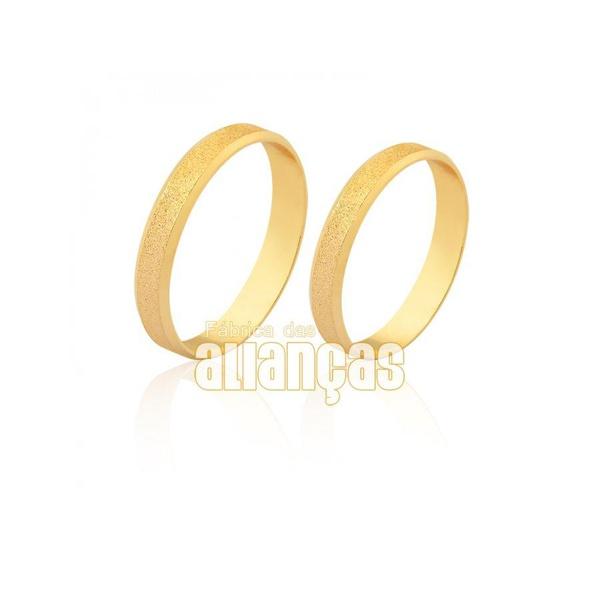 Aliança diamantada para casamento
