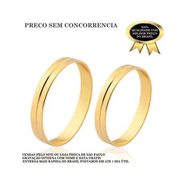 Alianças De Casamento Em Ouro Com o Menor Preço 10k