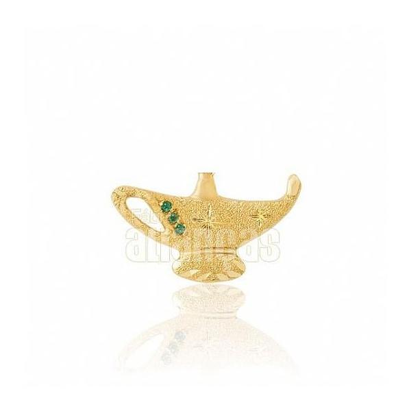 Boton De Formatura De Enfermagem Em Ouro Amarelo 18k 0,750 B-200