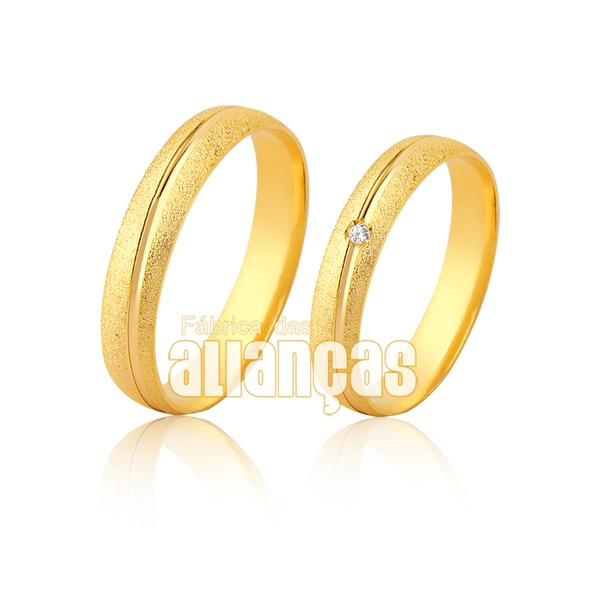 Alianças Paraiba De Ouro 18k
