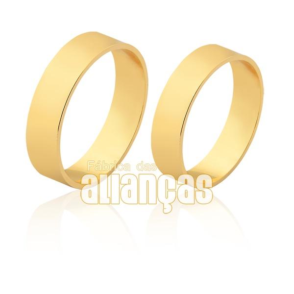 Alianças Finas De Noivado e Casamento De Ouro 18k
