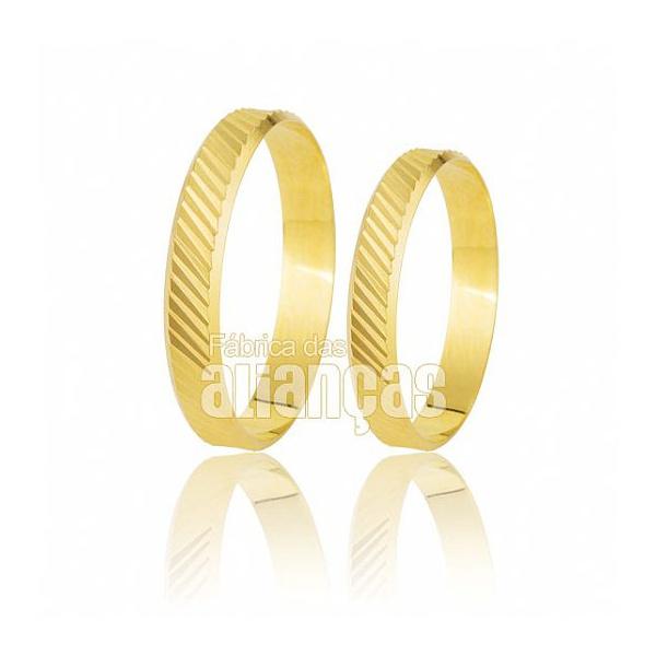 Alianças Baratas de Ouro Baratas 10k