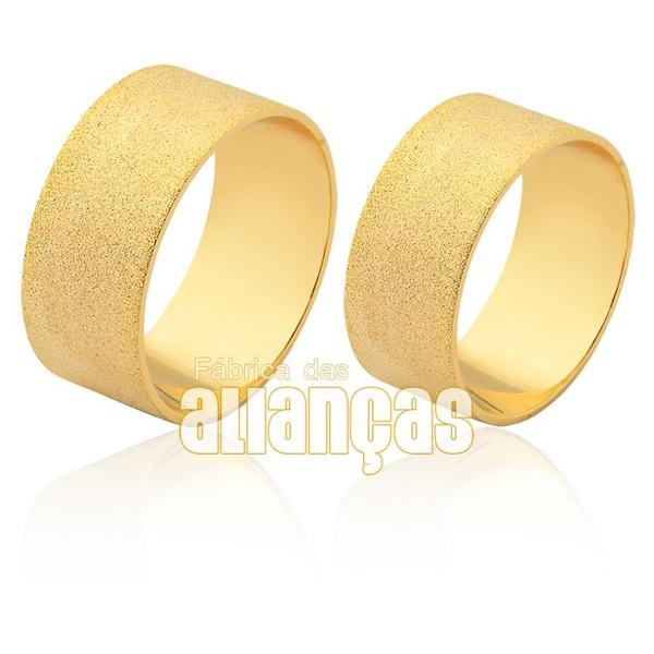 Aliança em ouro 18k para o seu casamento