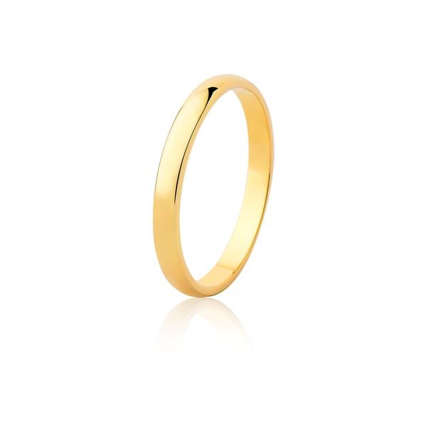 Aliança Ouro Amarelo 18k (2,50mm)