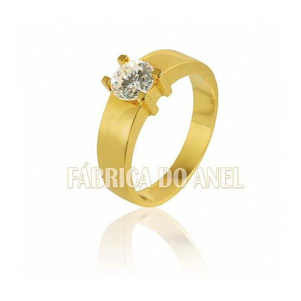 Anel Solitário Com Diamante De 0,70 Quilates