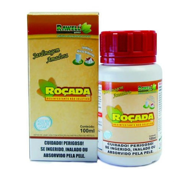 Herbicida não seletivo Roçada 100 ml - Rawell