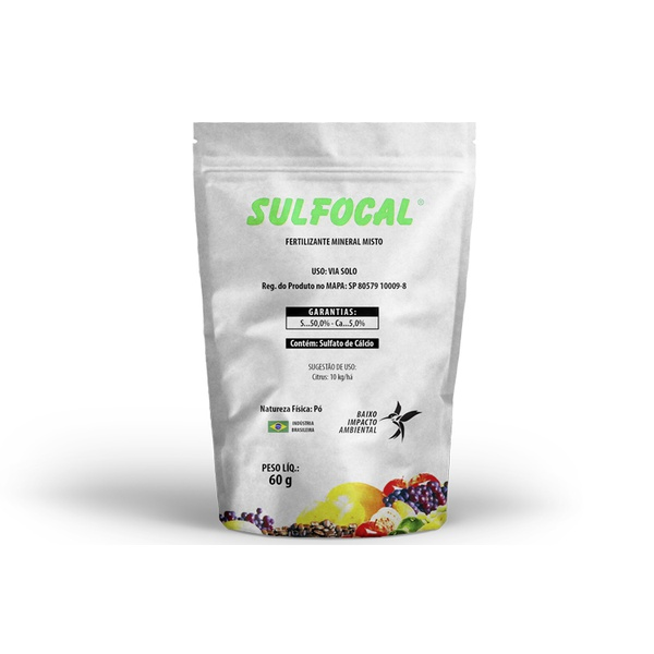 Calda Sulfocálcica Sulfocal Sachet 60g - Agrodama