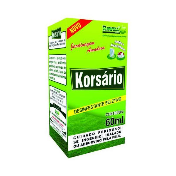 Herbicida Seletivo Korsário 60ml - Rawell