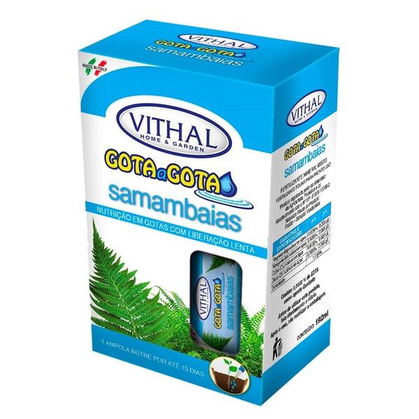 Fertilizante Gota a Gota para samambaias (6 ampolas) - Vithal