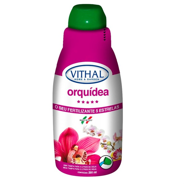 Fertilizante líquido para orquídeas 250mL - Vithal