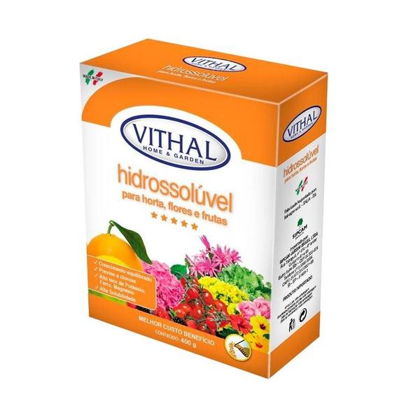 Fertilizante Hidrossolúvel para Horta, Flores e Frutas 400g - Vithal