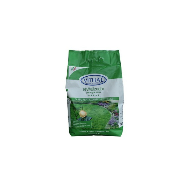 Fertilizante Revitalizador para Gramado 5Kg - Vithal