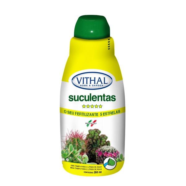 Fertilizante líquido para suculentas 250ml - Vithal