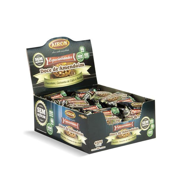 Paçoca Zero Especialidades com Chocolate 400g