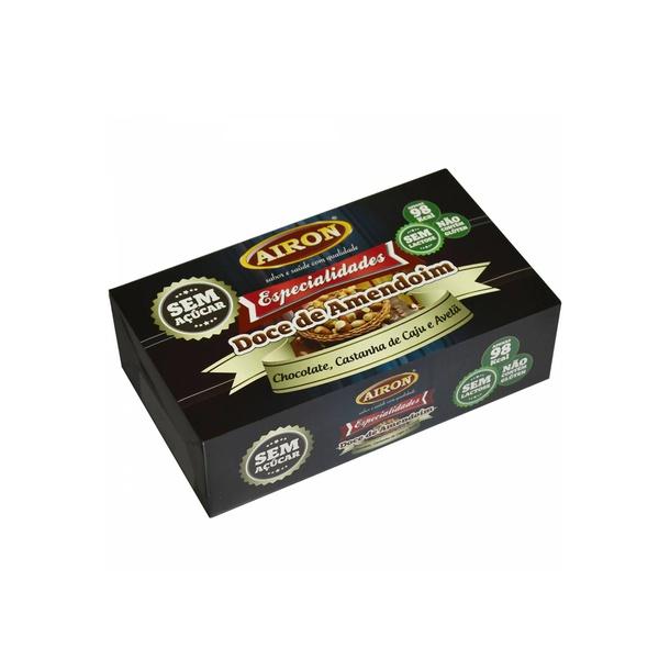 Paçoca Zero Especialidades com Chocolate 80g