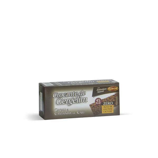 Crocante de Gergelim com Castanha de Caju e Cacau 30g