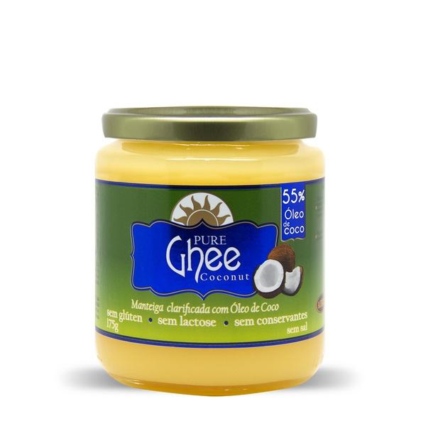 Manteiga Pure Ghee Original com Óleo de Coco 175g